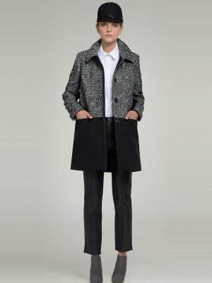 Παλτό με δέρμα