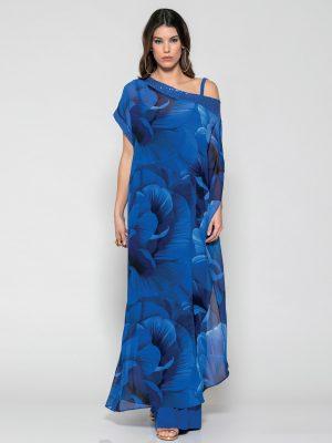 Φόρεμα Καφτάνι Εμπριμέ
