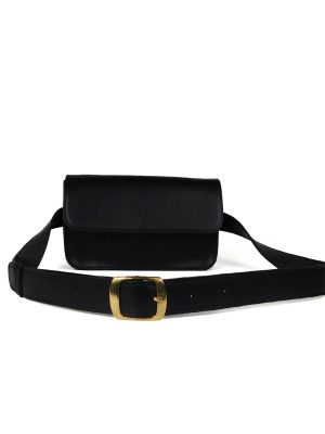 Τσάντα Μέσης Μαύρη