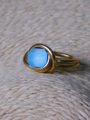 Δαχτυλίδι με Τιρκουάζ Χάντρα