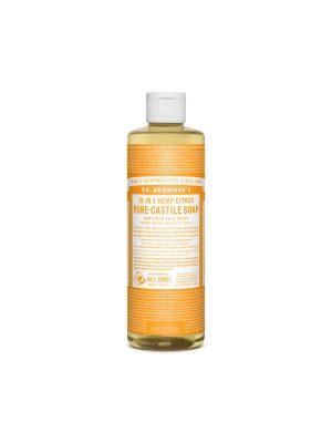DR. BRONNER'S CASTILE SOAP CITRUS ORANGE 475ML
