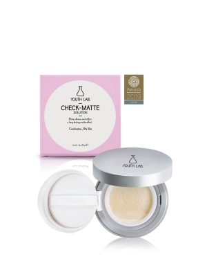YOUTH LAB CHECK MATTE COMPACT CASE COMBINATION-OILY SKIN 12ML