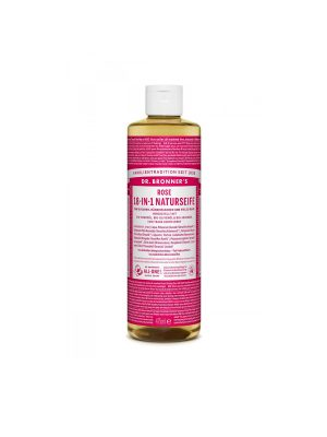 DR. BRONNER'S CASTILE SOAP ROSE 475ML