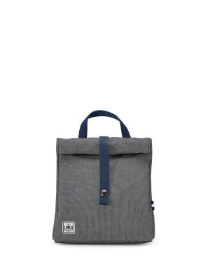 THE LUNCHBAGS ORIGINAL ΜΠΛΕ JEAN LUNCHBAG 24CM